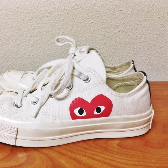 47aeb9b32380 Comme des Garcons Shoes - NEW comme des Garcons converse